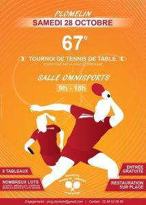 Tournoi r gional de plomelin tr m oc pluguffan ligue de - Ligue de bretagne de tennis de table ...