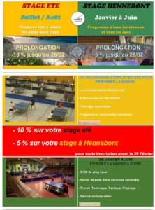 Stages a hennebont ligue de bretagne de tennis de table - Ligue de bretagne de tennis de table ...
