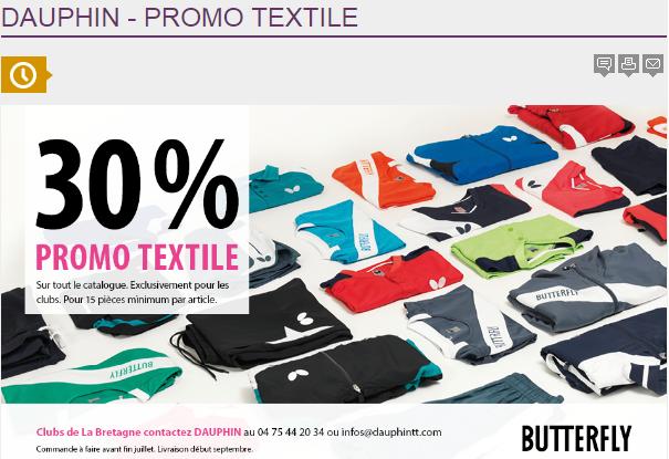 Dauphin promo textile ligue de bretagne de tennis de table - Ligue de bretagne de tennis de table ...