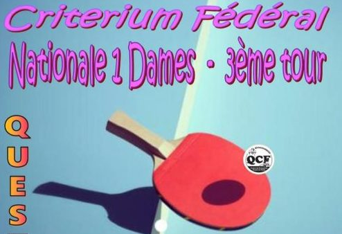 Cf3 n1 dames a questembert ligue de bretagne de tennis de table - Ligue de bretagne de tennis de table ...