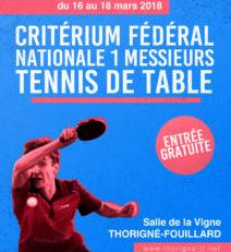 Cf n1 messieurs tour 4 a thorigne fouillard ligue de - Ligue de bretagne de tennis de table ...