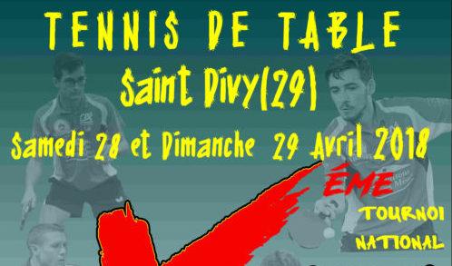 Tournoi national de st divy ligue de bretagne de tennis - Ligue de bretagne de tennis de table ...