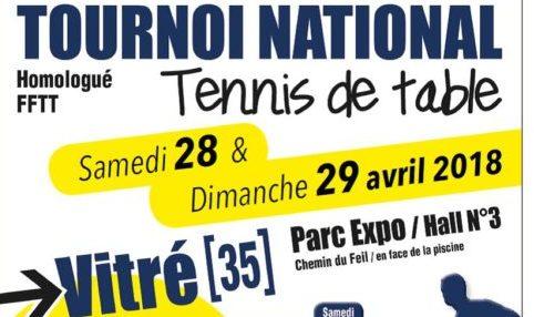 Tournoi national de vitre ligue de bretagne de tennis de - Ligue de bretagne de tennis de table ...