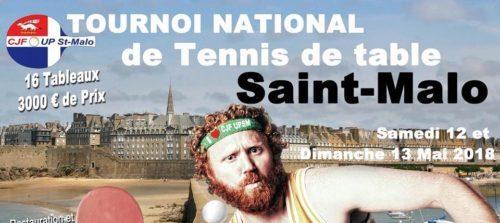 Tournoi national de st malo ligue de bretagne de tennis - Ligue de bretagne de tennis de table ...