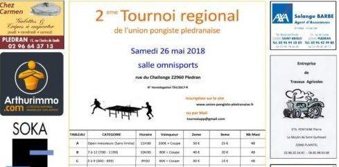 Tournoi regional de pledran ligue de bretagne de tennis de table - Ligue de bretagne de tennis de table ...