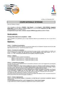 Convocation Coupe Nationale Veterans Rennes Ligue De Bretagne De