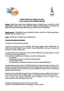 Cr Cdl 24 Novembre 2018 Rennes Ligue De Bretagne De Tennis De Table