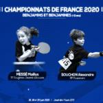 RÉSULTATS des 2 bretons aux Championnats de France 2020 Benjamin·e·s