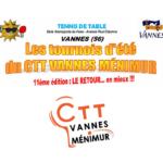 Tournois d'Été 2021 – CTT Vannes Ménimur (56)