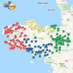 La cartographie des clubs bretons 2021-2022